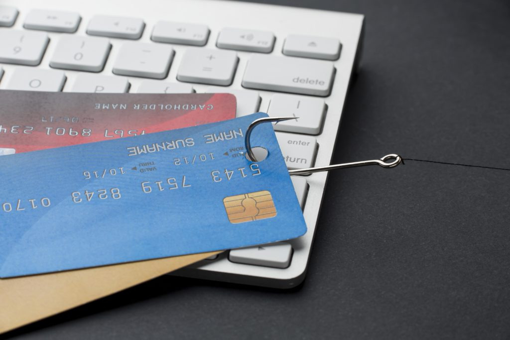 Online credit card skimming